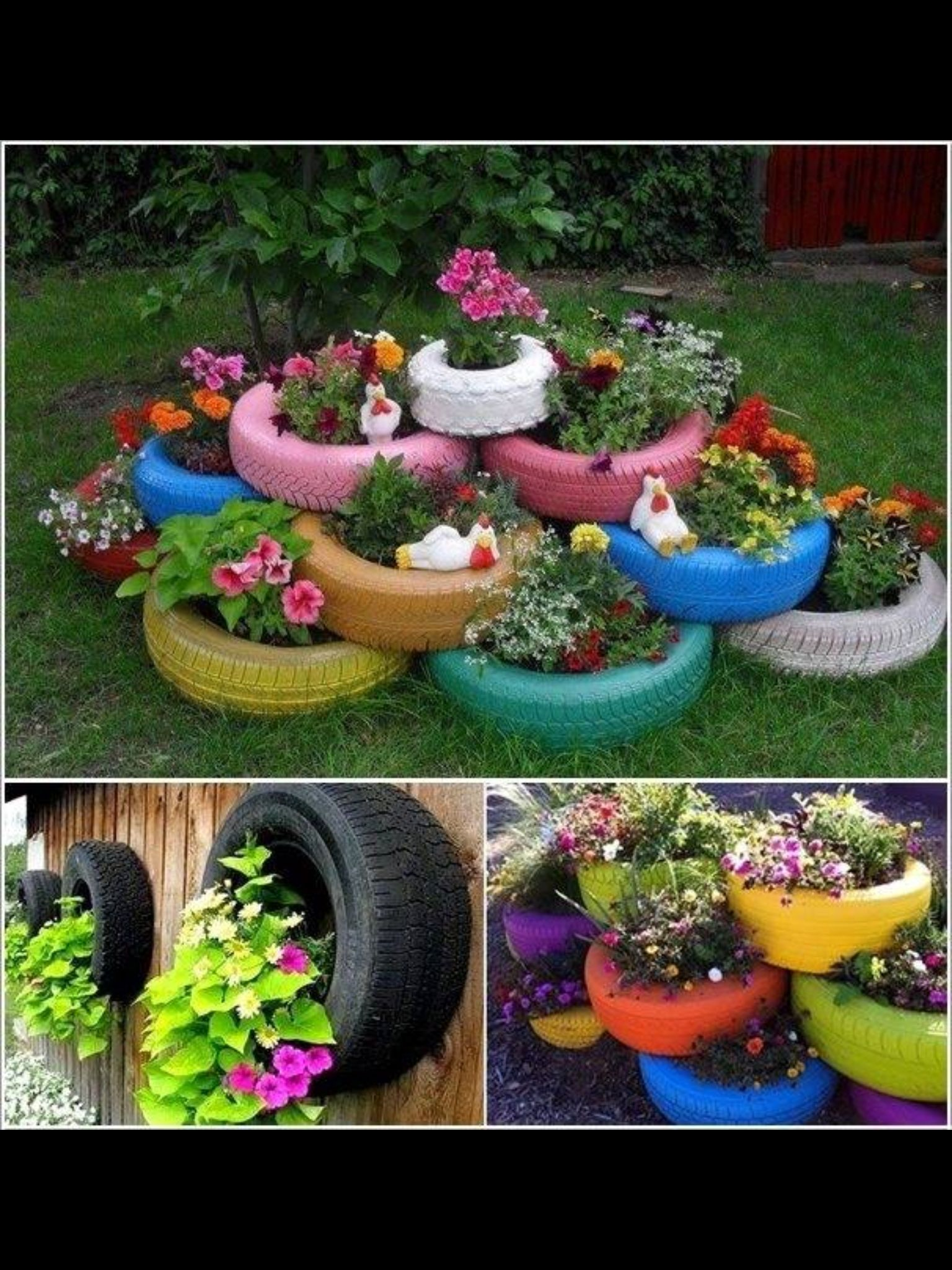 Tire diy DIY & Crafts Pinterest