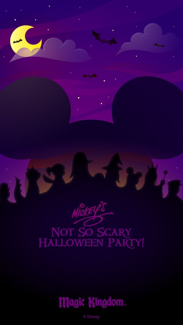 Walt Disney World Halloween Cell Phone Wallpapers Notsoscary Disney World Halloween Disney Phone Wallpaper Disney Holiday