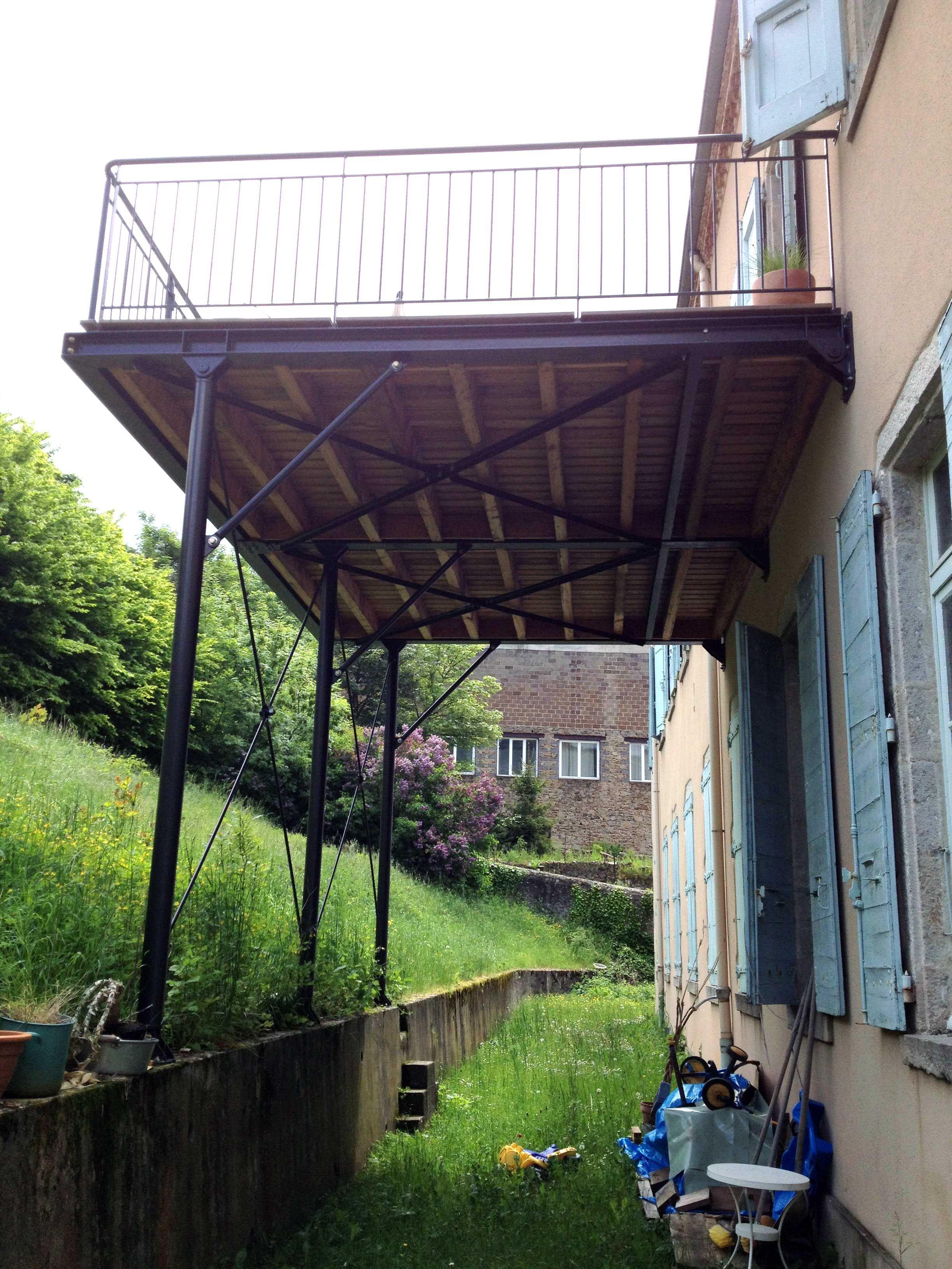 TERRASSES Escalier extérieur, Terrasse, Terrasse surélevée