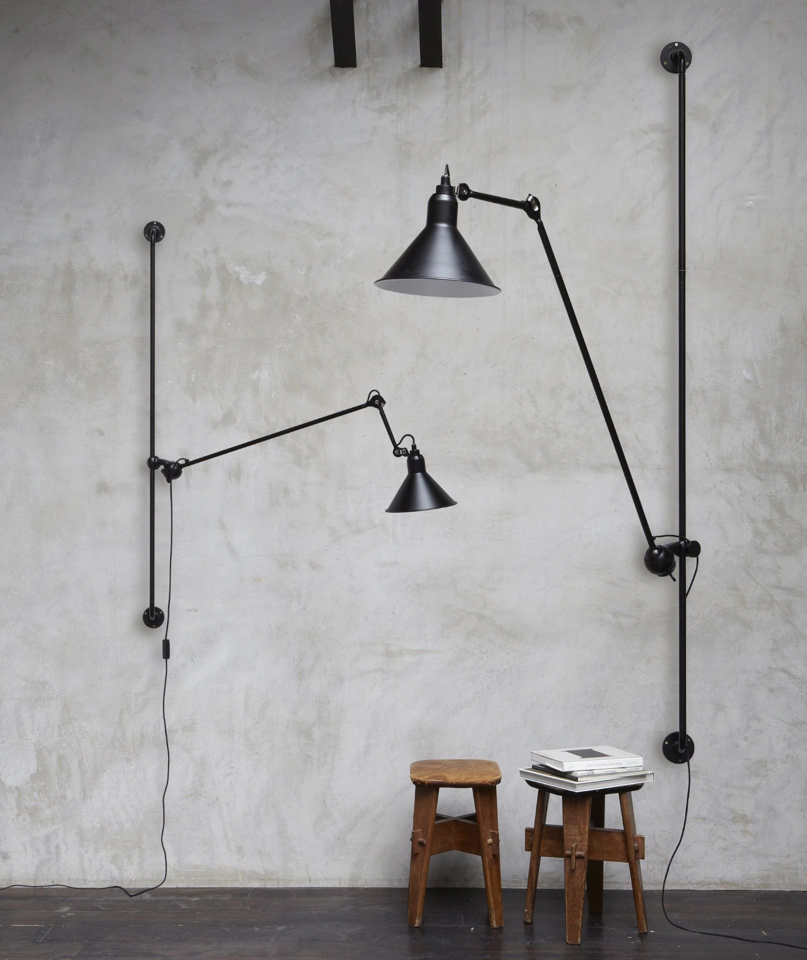 Lampe Gras 214 Wall Lamp Is A Variation Of The Classic Lampe D