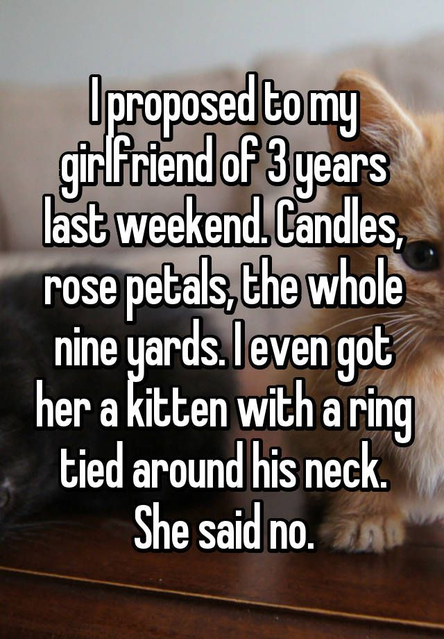 13 Rejected Marriage Proposals That Will Make You Cringe I Was