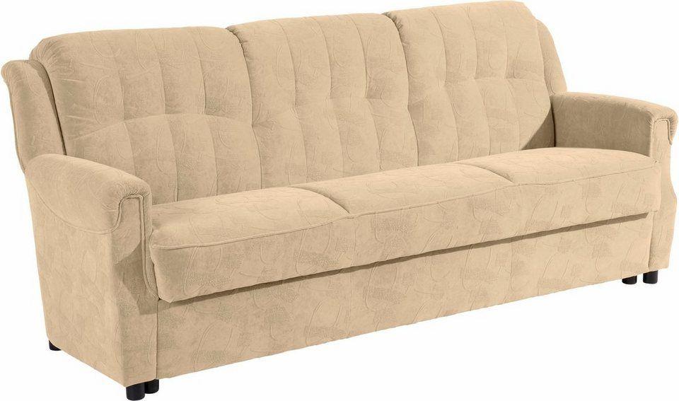 3 Sitzer Manhattan Inklusive Bettfunktion Bettkasten Breite 207 Cm Online Kaufen Home Decor Love Seat Furniture