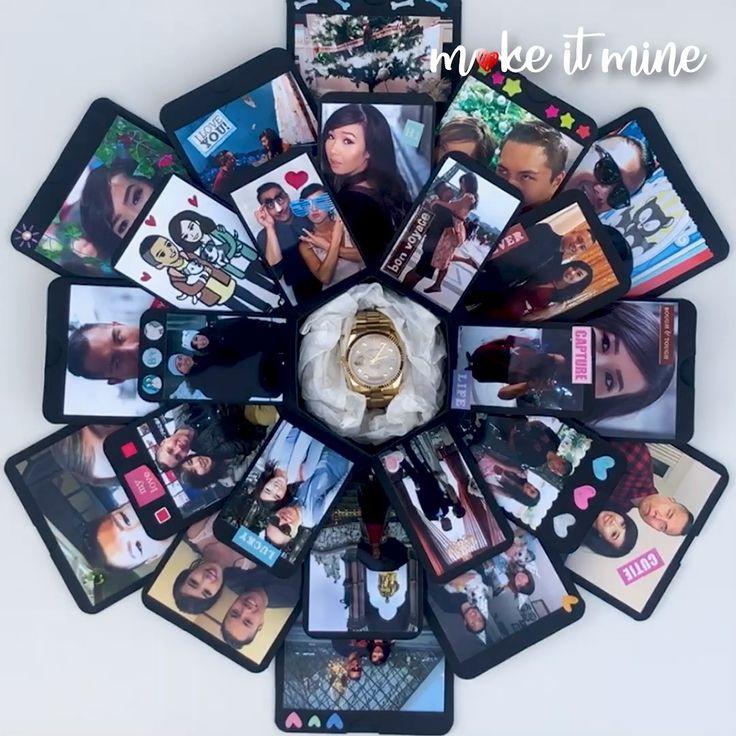 Hexagon LoveNote  #diygiftsforboyfriend #hexagon #lovenote