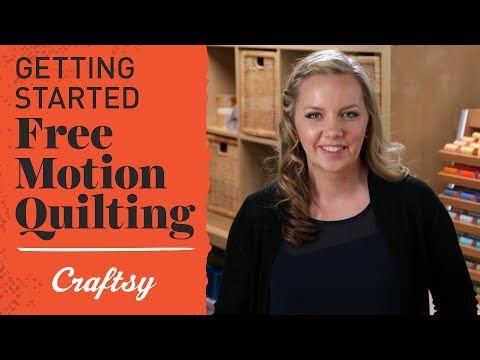Free Motion Quilting (FMQ): Tips for Getting Started - YouTube