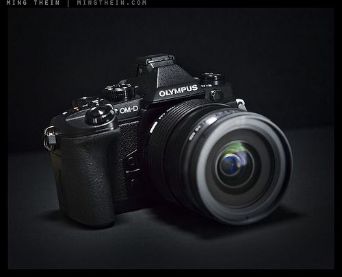 Olympus E-M1 - my current camera. Being micro four thirds, it is ...