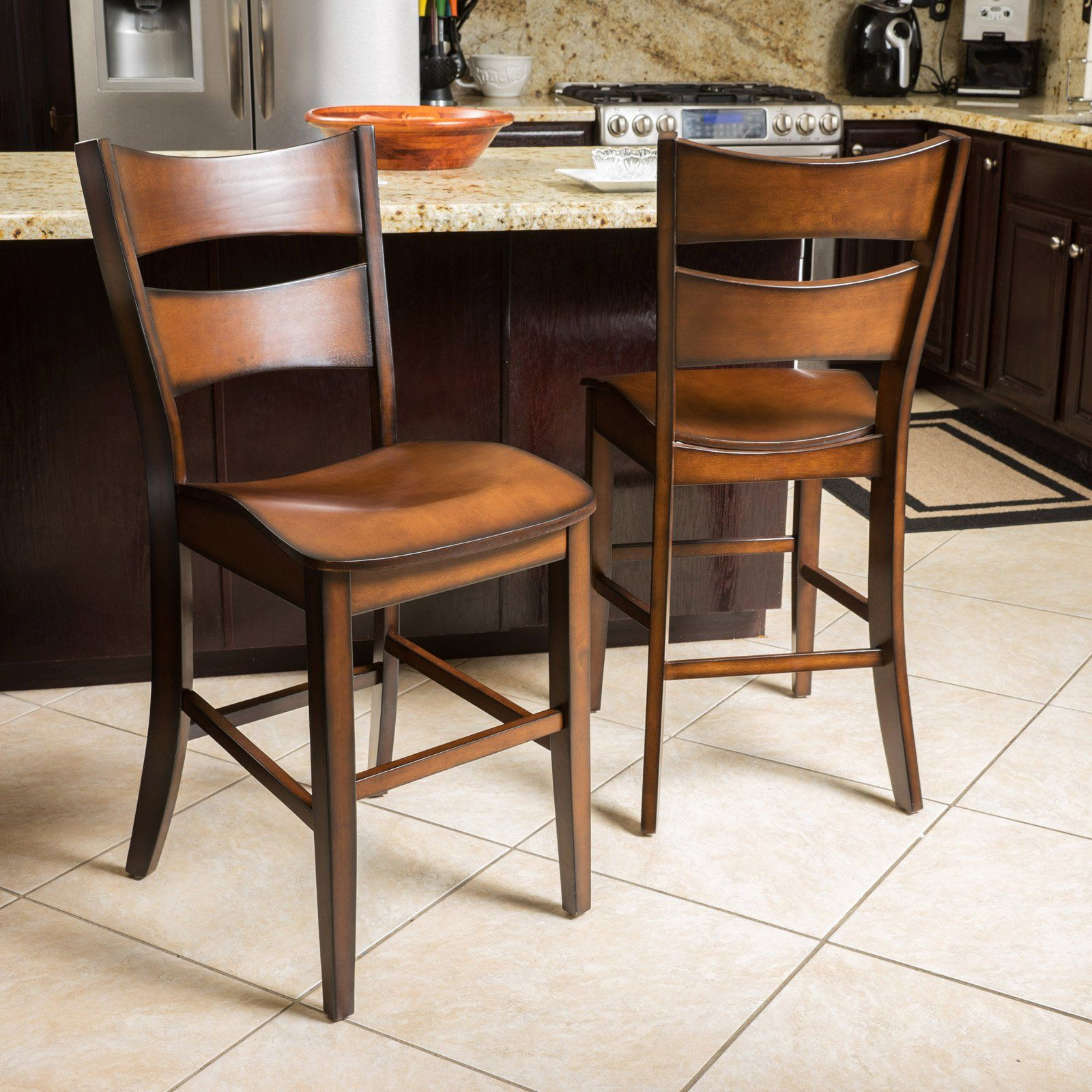 Home Wood counter stools, Counter stools, Wood counter