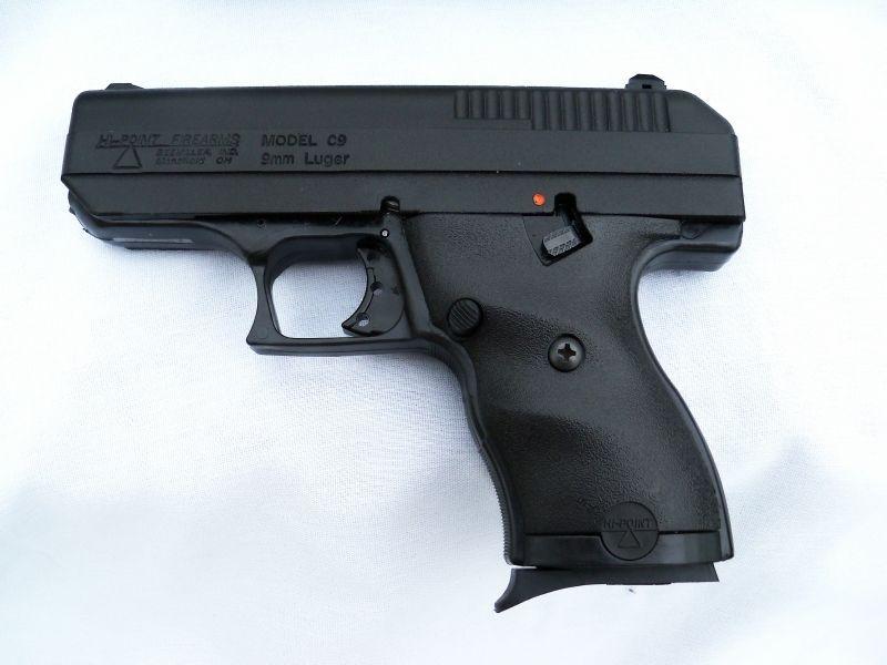 Hi-Point Firearms | Item:11126112 Hi-Point Firearms Hi-Point 9mm semi-auto pistol For Sale ...
