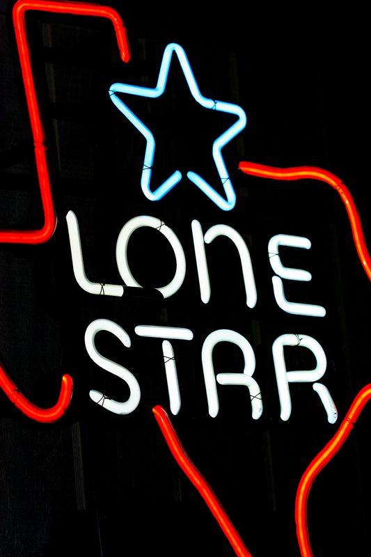 Vehicle Registration Sticker - Lone Star