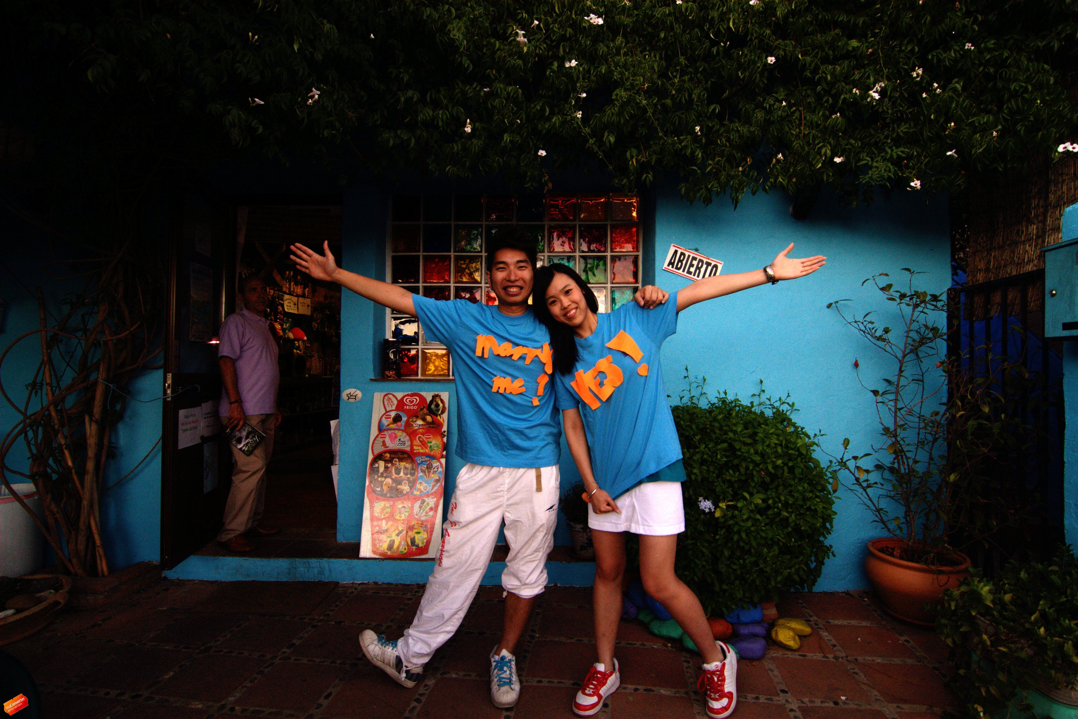 We, fans of Smurf visit the hometown of Smurf - Juzcar, Malaga in August 6, it's not easy to reach, we nearly can't reach there...as we don't know Spanish, by our english and universal body language, we finally reach there and see those beautiful blue house ! we love there so much, just wanna share our happiness to those who loves Smurf ! Enjoy!