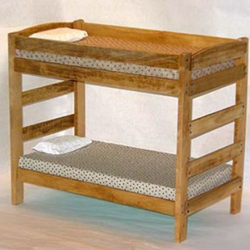 Details About Twin Over Twin Bunk Bed Furniture