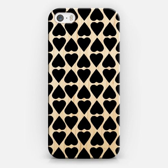 @casetify sets your Instagrams free! Get your customize Instagram phone case at casetify.com! #CustomCase Custom Phone Case | iPhone 5s | Ca… #hearts #heart #black #love #projectm #emeline #wood #iphone #case