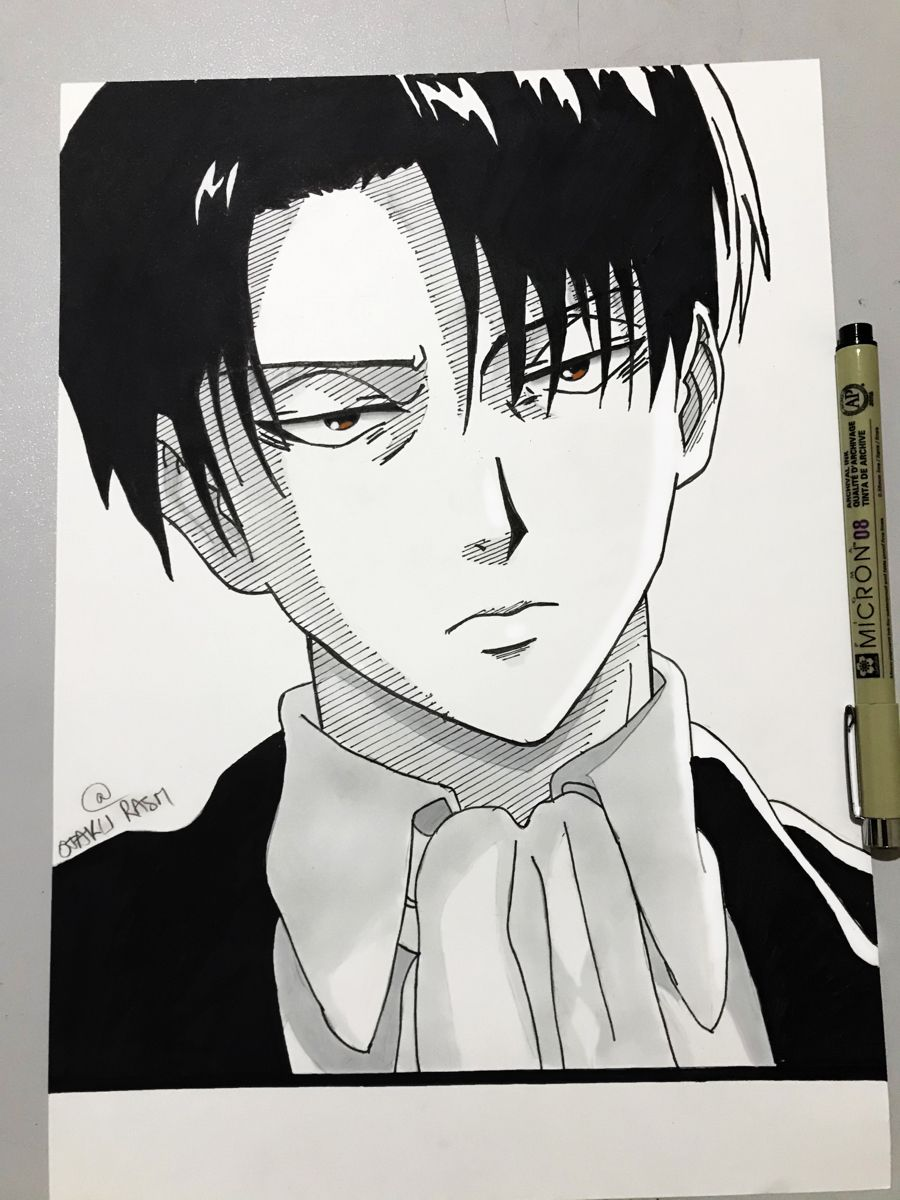 Photo of How to draw levi ackerman from attack on titan