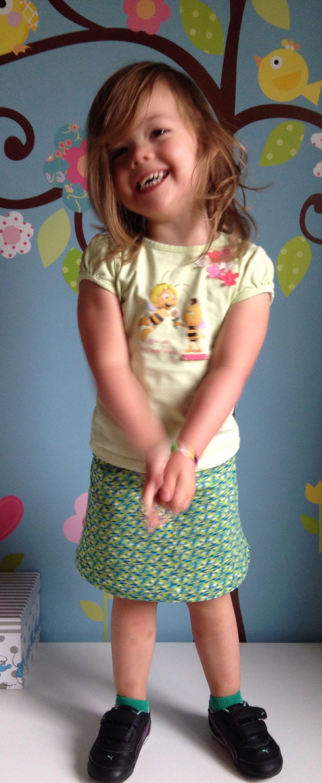 A-lijn rokje in tricot uit Allemaal Rokjes van Mme Zsazsa http://magnifieka.blogspot.be
