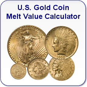 U S Gold Coin Melt Value Calculator Gold Coins Today Gold Price Gold