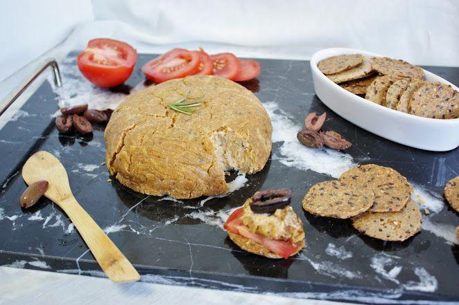 This Rawsome Vegan Life: aged pine nut cheese with garlic & rosemary
