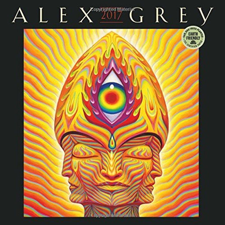 Alex Grey 2017 Wall Calendar | Products | Pinterest | Alex grey and ...