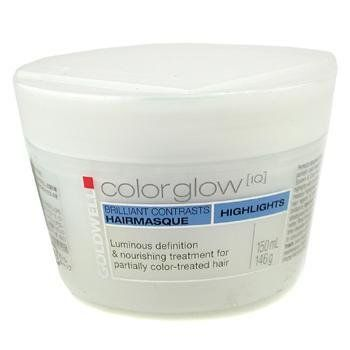 Color Glow IQ Highlights Brilliant Contrasts Hair Masque ( For Partially Color-Treated Hair ) - Goldwell - Color Glow IQ - 150ml/5oz >>> See this great product.