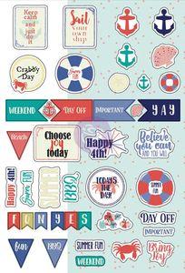 Prima > My Prima Planner > Julie Nutting > July Planner Stickers - Julie Nutting - My Prima Planner: A Cherry On Top