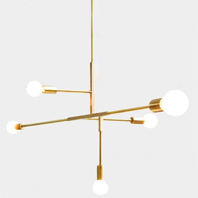 Moderne Kreative Concise Kunst Stil Pendelleuchte Wohnzimmer Studie  Schlafzimmer Restaurant Cafe Dekoration Lampe Freies Verschiffen In