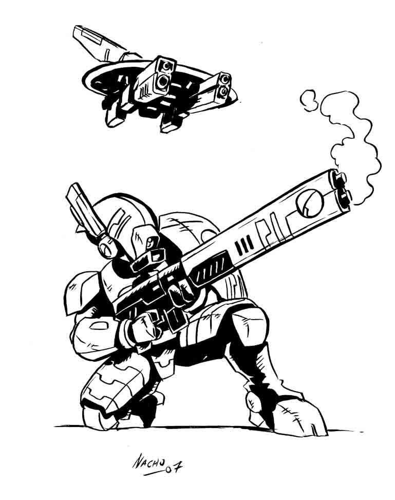Tau By Https Www Deviantart Com Nachomon On Deviantart Tau Warhammer Tau Empire Tau