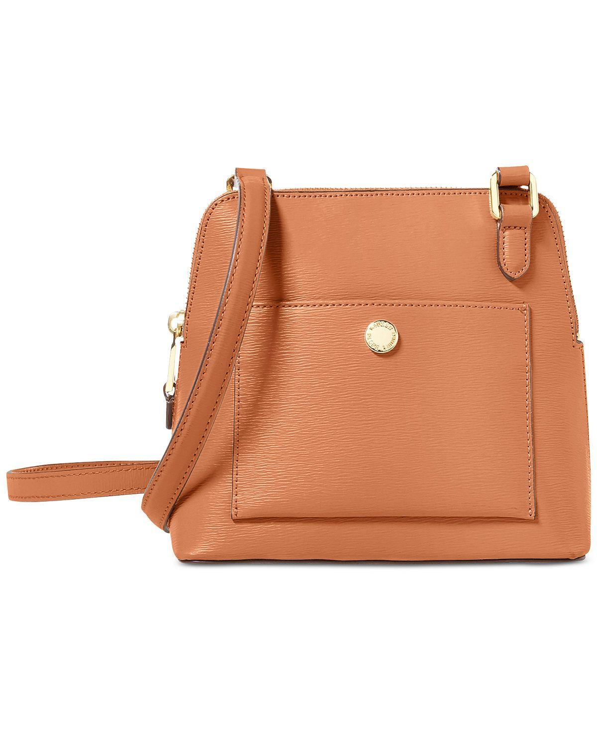242db4aba6 Lauren Ralph Lauren Newbury Bailey Crossbody - Crossbody   Messenger Bags -  Handbags   Accessories - Macy s