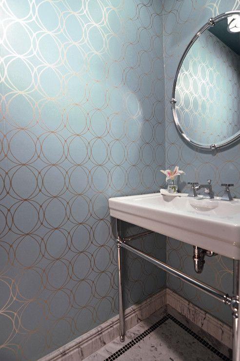 Darcy Wallpaper Contemporary Bathroom Case Design Mosaic Bathroom Accessories Contemporary Sink Contemporary Bathroom