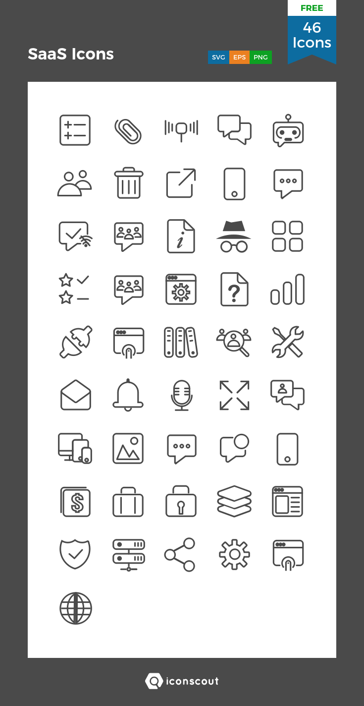 Download Saas Icons Icon Pack Available In Svg Png Eps Ai Icon Fonts Icon Pack Icon Free Icon Packs