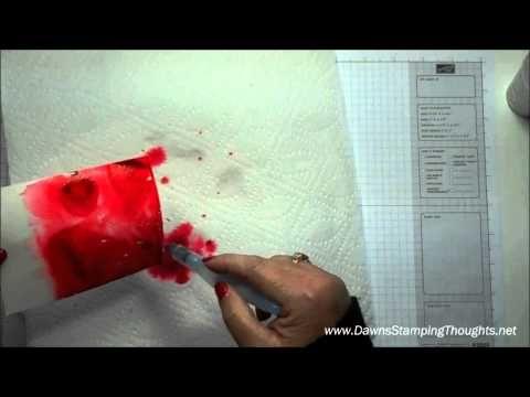Salt Background Technique Video Card Tutorials Painting Lessons
