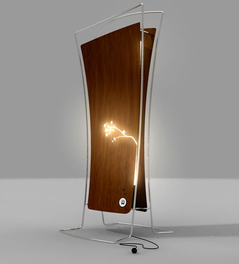 White Noise Lamp For Ill Elderly By Shane Crozier Lamp Lamp Design Contemporary Table Lamps