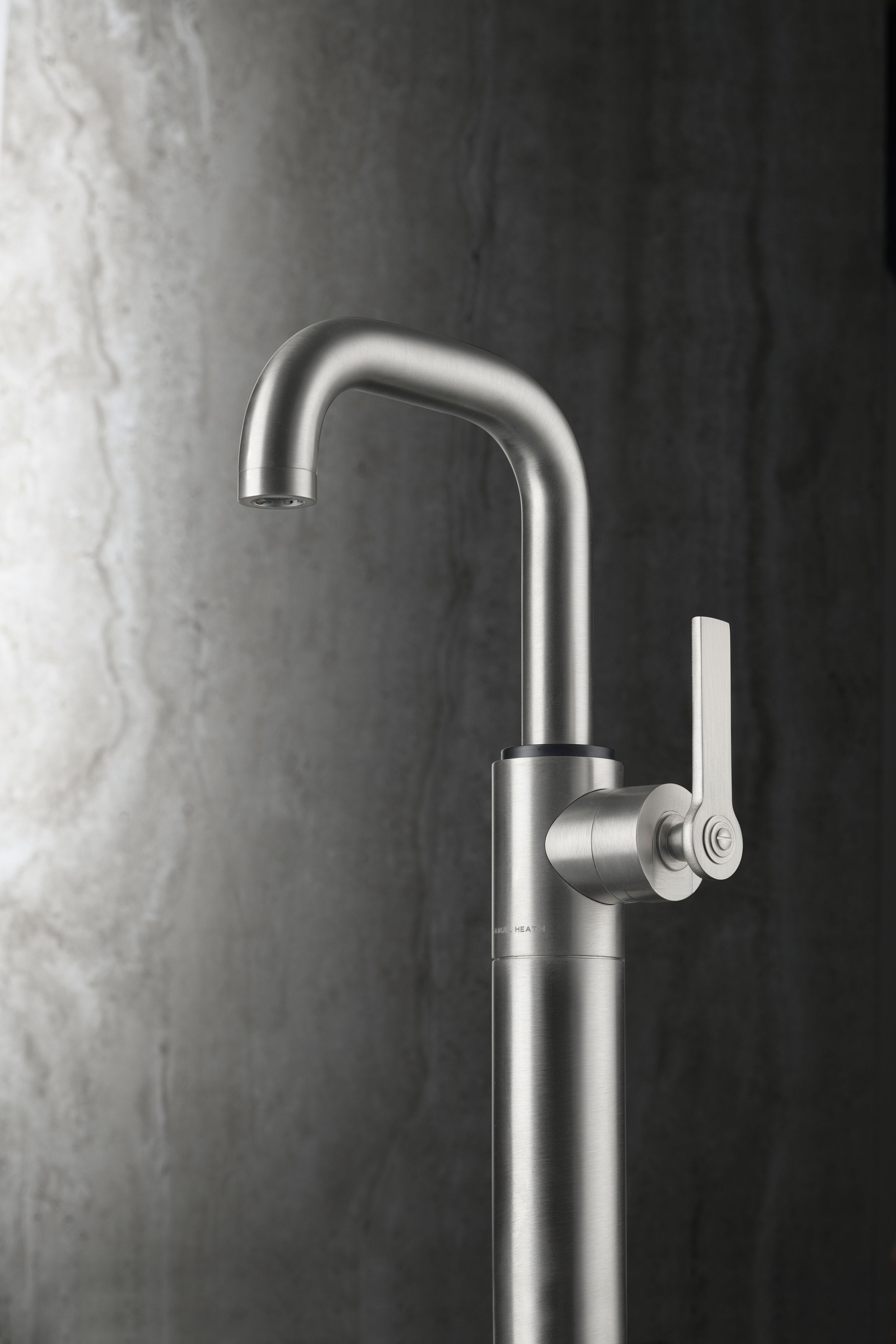 Landmark Pure Stainless Steel Basin Mixer Kitchen Tap Pure Products Basin Mixer Basin