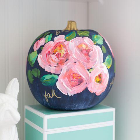 47 Fun, Easy Ways to Paint Your Pumpkins This Halloween #pumpkinpaintingideasforkids