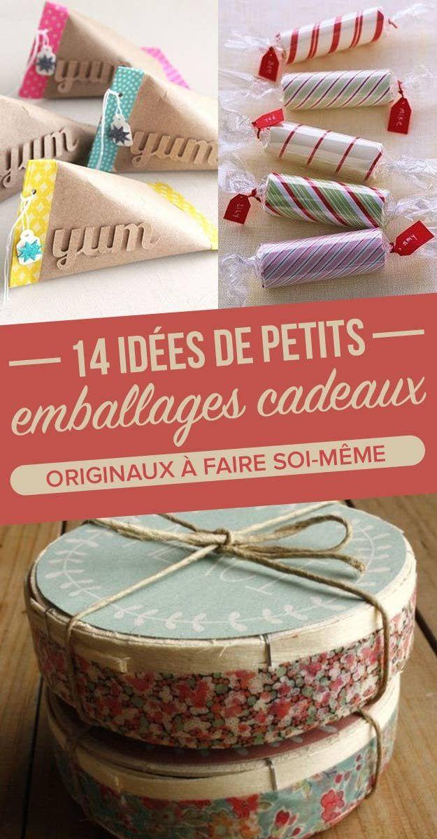 14 idées de petits emballages cadeaux originaux à faire soi-même #emballagecadeauecologique