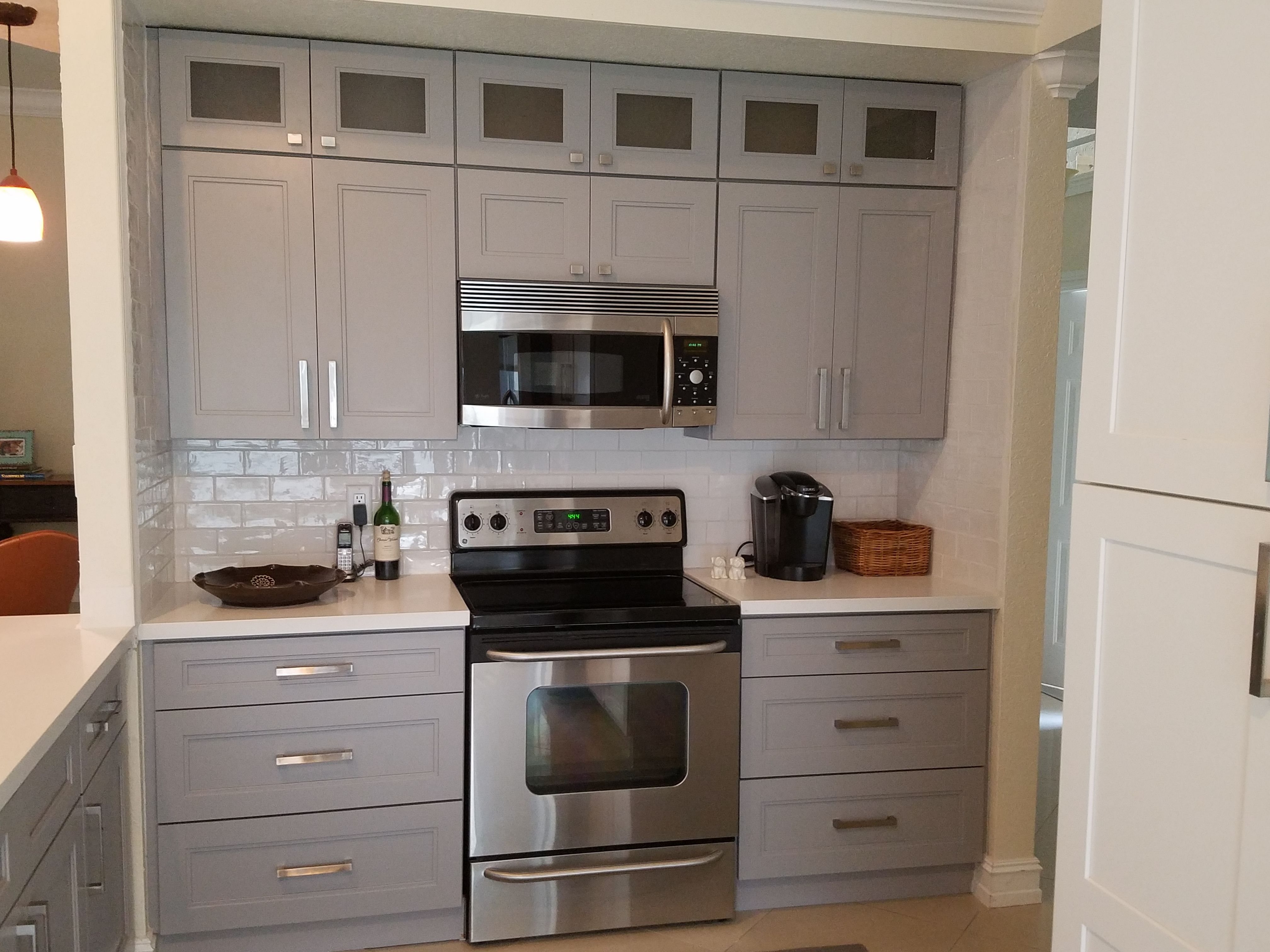 Image Result For Jarlin Cabinets Review Tall Kitchen Cabinets Assembled Kitchen Cabinets Kitchen Cabinets
