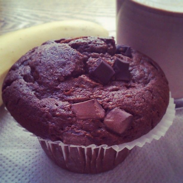 M de glamour:chocolate muffin