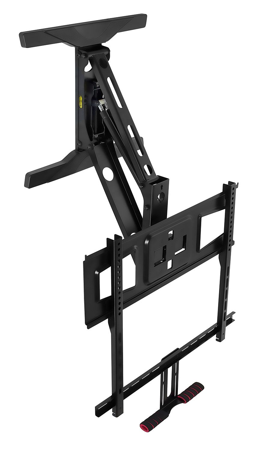Mount It Pull Down Tv Wall Mount For 40 43 Inch 50 Inch 55 Inch