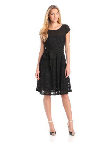 fccf495d118 Julian Taylor Women s Boatneck Lace Dress  39.99 (save  40.01) + Free  Shipping