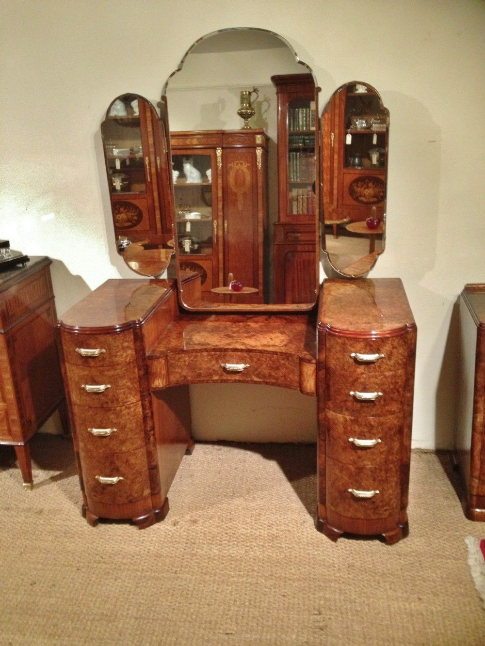 Art deco dressing table for sale art deco dressing table - Vintage bedroom furniture for sale ...