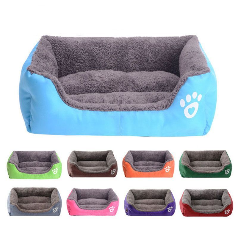 Terrific Photo Pet Sofa Dog Beds Super Soft Waterproof Bottom Soft Fleece Warm Cat Bed House Wa Ideas A secure area for your dog A dog kennel is a good choice to offer yo...