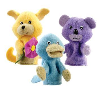 Puggles Finger Puppets 2 50 For
