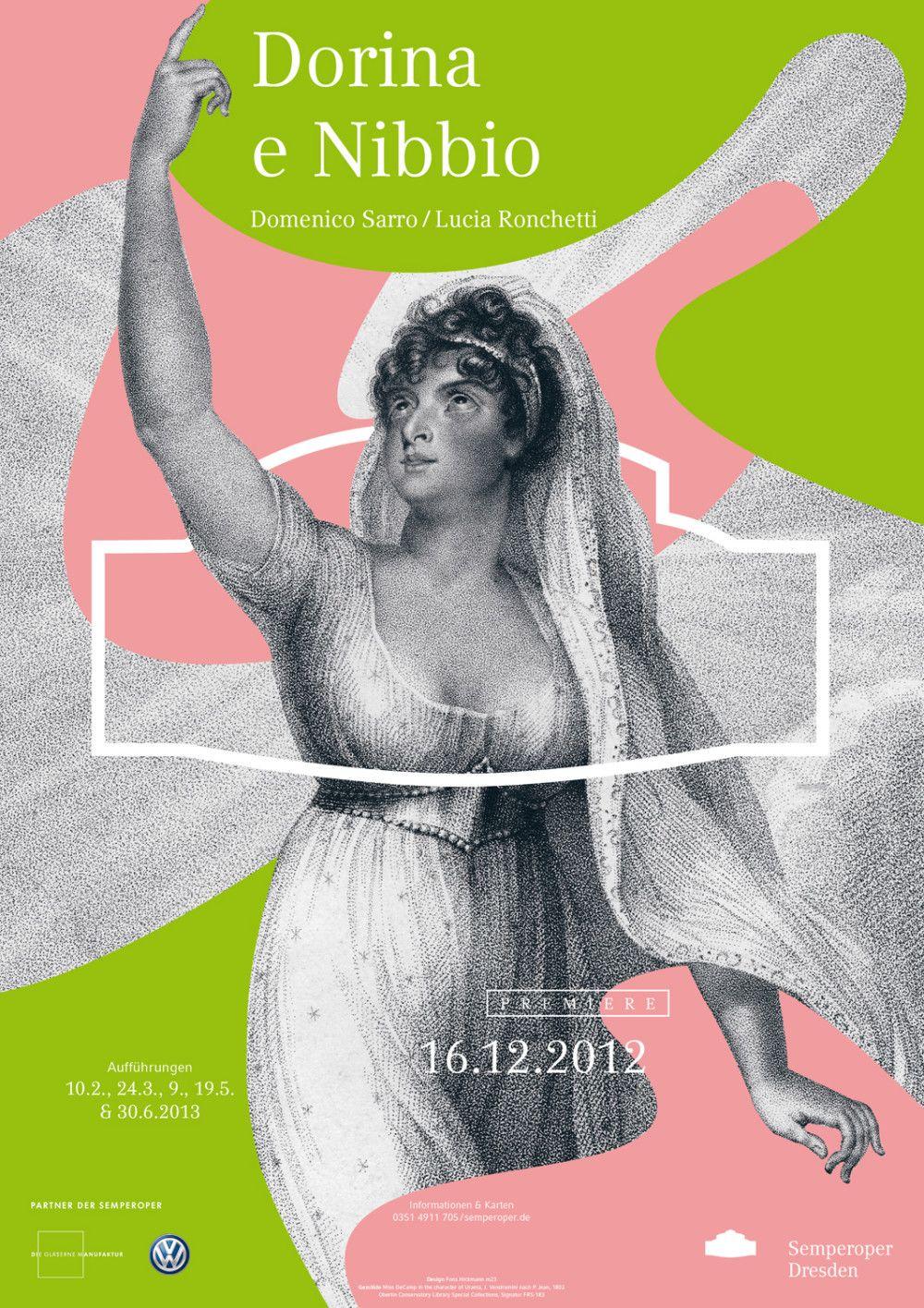 Plakatkampagne Der Semperoper Dresden Semperoper Dresden Grafikdesign Inspiration Und Grafische Poster