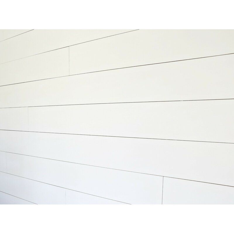 True Shiplap 7 44 X 48 Peel And Stick Solid Wood Wall Paneling In White In 2020 Peel Stick Vinyl Vinyl Wall Panels Stick On Wood Wall