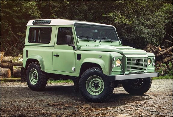 Land Rover Defender Heritage Limited Edition Land Rover Defender