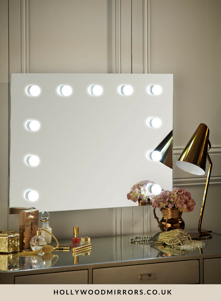 Penelope Hollywood Mirror Wall Mounted Landscape 60 x 80cm