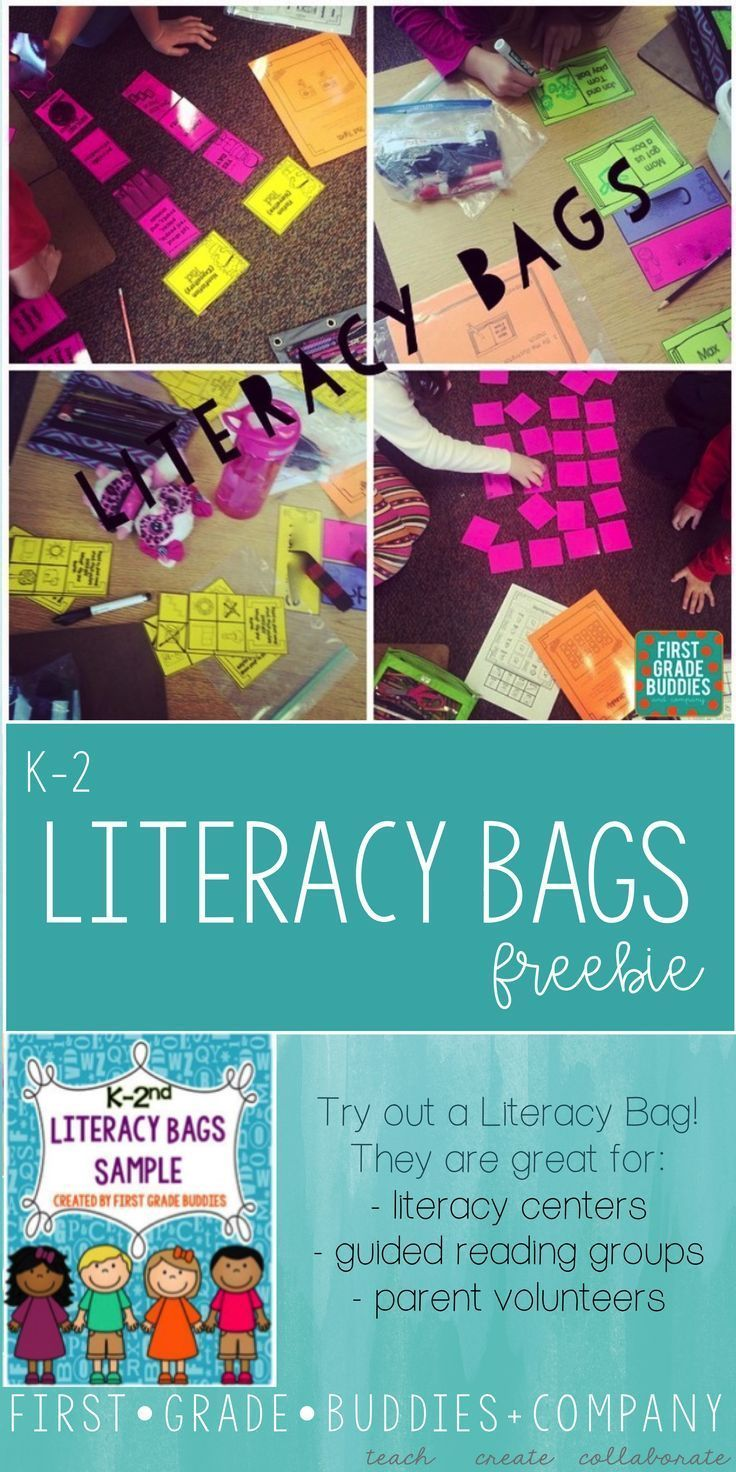 Photo of Literacy Bags Sample FREEBIE : K-2 Reading Centers