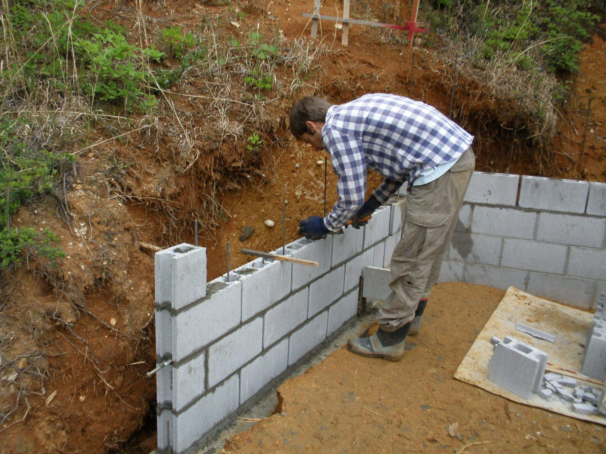 Diy Retaining Wall Blocks Diy Decorate Ideas Simple In