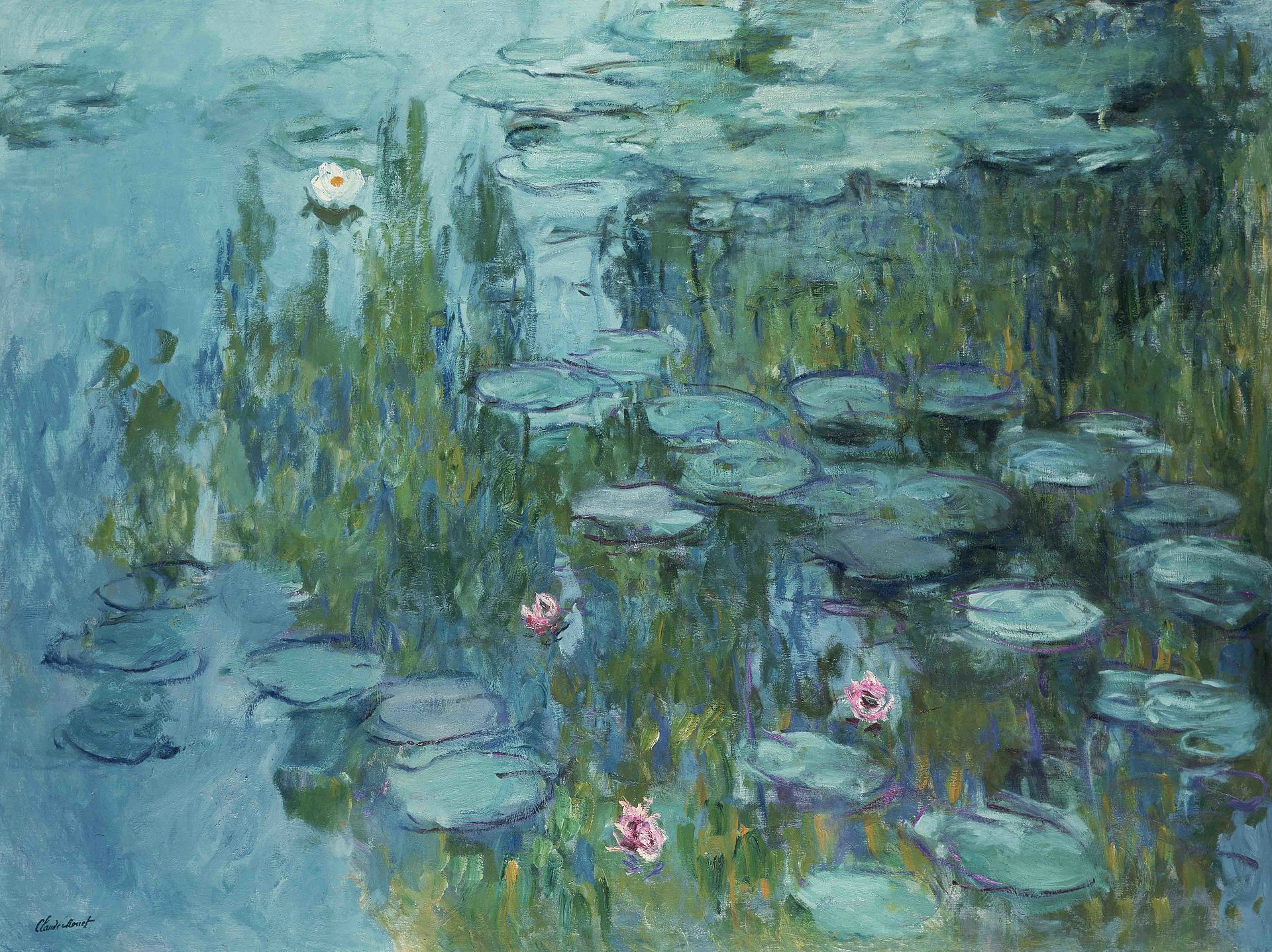 Pin by Katie on The Impressionists | Claude monet water lilies, Claude  monet paintings, Claude monet