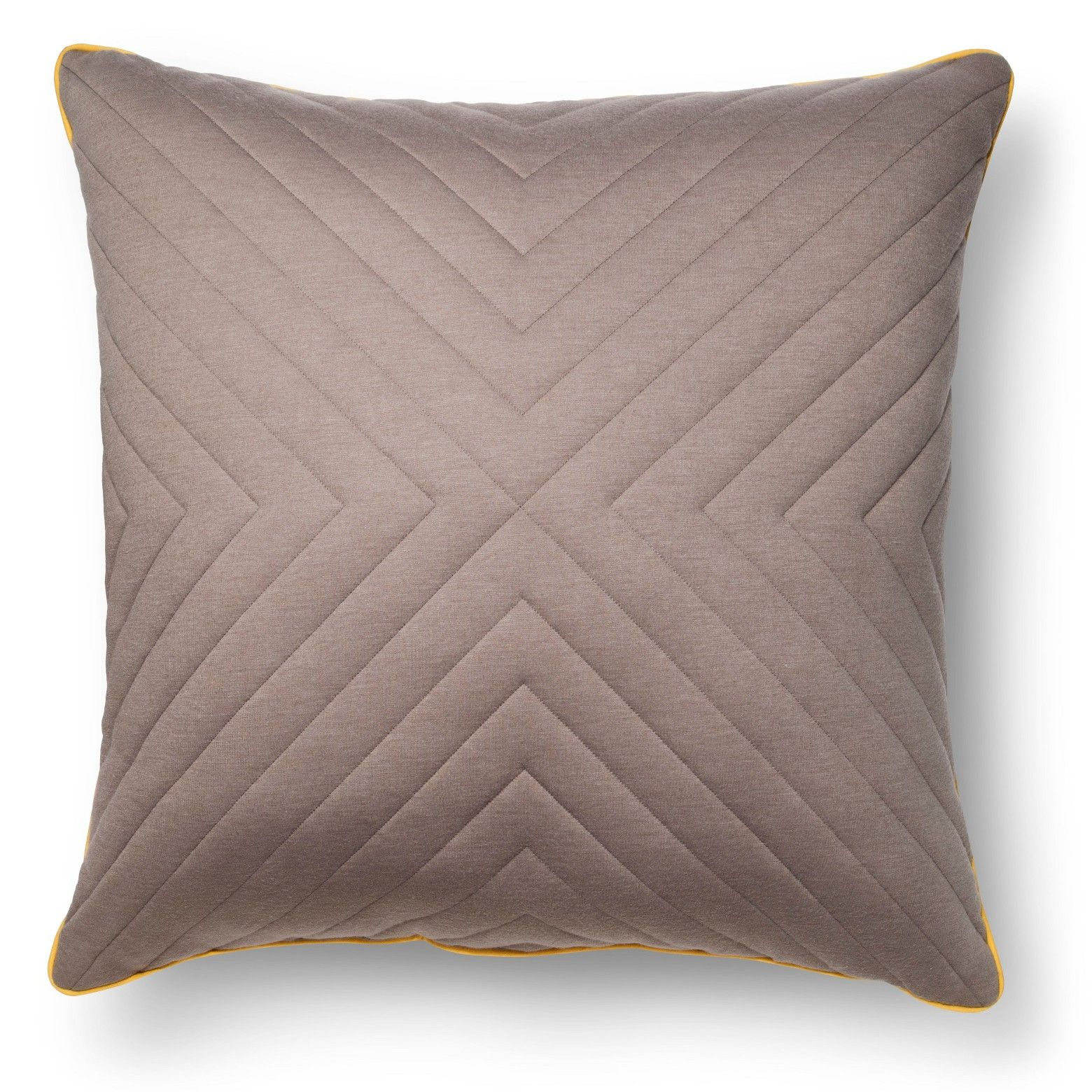 Room Essentials Oversized Quilted Jersey Throw Pillow (17x17 ...