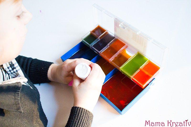 experimente mit farben pinterest sch tteln leuchten und wasser. Black Bedroom Furniture Sets. Home Design Ideas