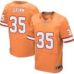 buy popular 9ddc3 95342 $78.00--Cody Grimm Orange Elite Jersey - Nike Stitched Tampa ...