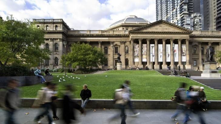 Let loose in the State Library of Victoria.   Architecture ...